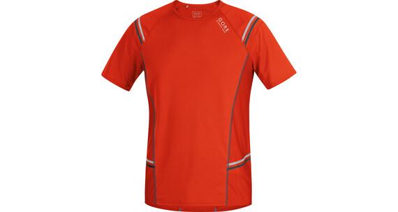 GORE RUNNING WEAR Mythos 6.0 Hardloopshirt korte mouwen Heren oranje